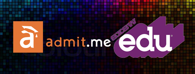 Admit.me is presenting at South by Southwest Edu (SxSWedu) in March!