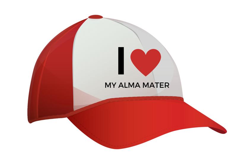 I love my alma mater