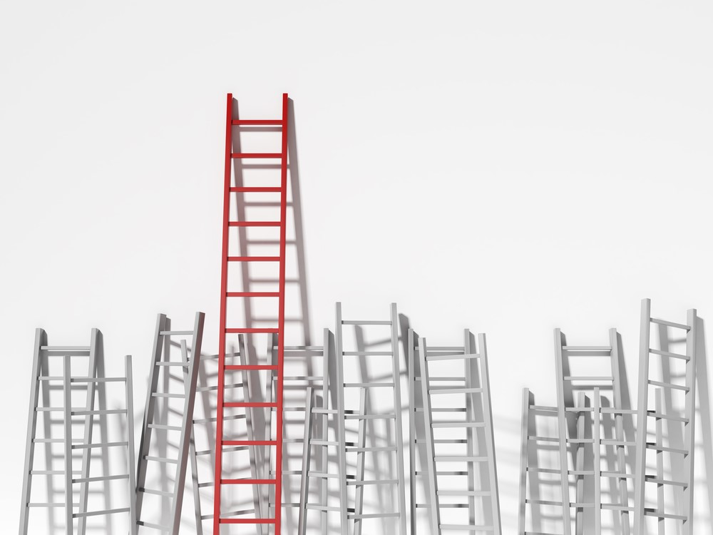 Will an MBA help you climb that ladder?